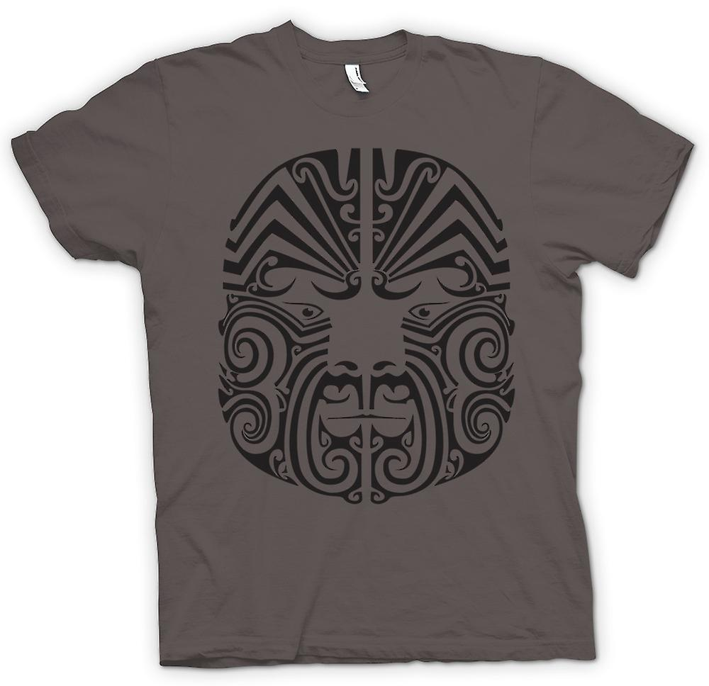 Womens T-shirt-Mauri Tribal Tattoo Design