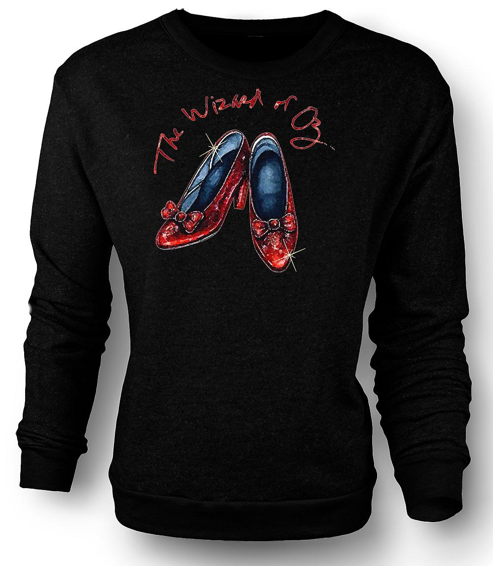 Mens Sweatshirt Dorothy Red Shoes - Wizard Of Oz