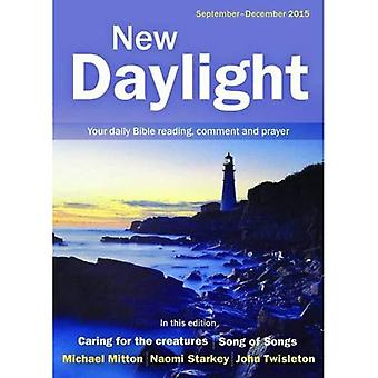 New Daylight September - December 2015: Your Daily Bible Reading, Comment and Prayer