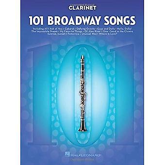 101 Broadway Songs - Klarinette