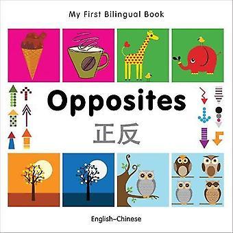 Mon premier livre bilingue - opposés: Anglais-chinois