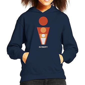 Extropy Philosophy Symbol Kid's Hooded Sweatshirt