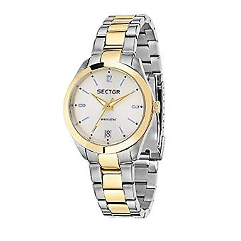 Sector women's Quartz analogue watch with stainless steel band R3253486501