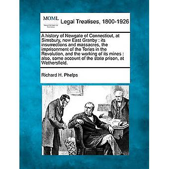 A history of Newgate of Connecticut at Simsbury now East Granby  its insurrections and massacres the imprisonment of the Tories in the Revolution and the working of its mines  also some account by Phelps & Richard H.