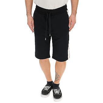 Dolce E Gabbana Black Cotton Shorts