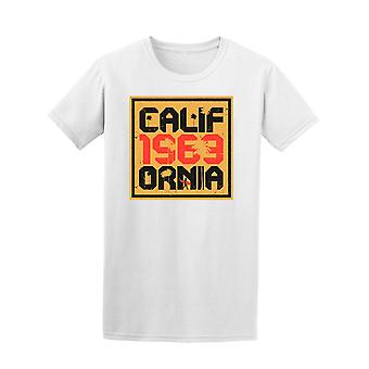 California 1969 Surf Tee Men's -Image by Shutterstock