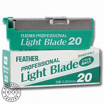 Feather Light Replacement Razor Blades (x20)