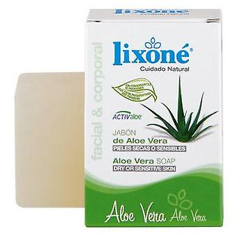 Lixone Aloe Vera Soap 125 gr (Hygiene and health , Shower and bath gel , Hand soap)