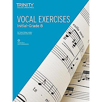 Vocal Exercises from 2018 (Initial Grade 8) by Vocal Exercises from 2