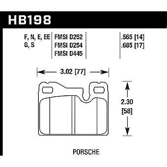 Hawk Performance HB198E.685 Blue 9012