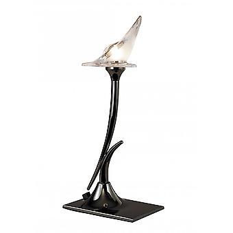 Lampe de table Mantra Flavia 1 Light G9, Chrome Noir