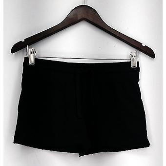 Mossimo Supply Co. Pull-on Knit Casual Shorts w/ Tie Waist Black