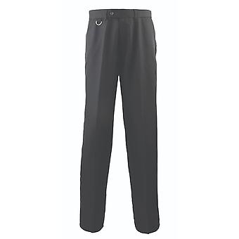 Premier flat front hospitality trousers pr523