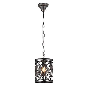 Maytoni Lighting Rustika House Pendant, Brown