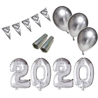 Décoration du Nouvel An pour le nouvel an 2020 paquet avec des décorations.