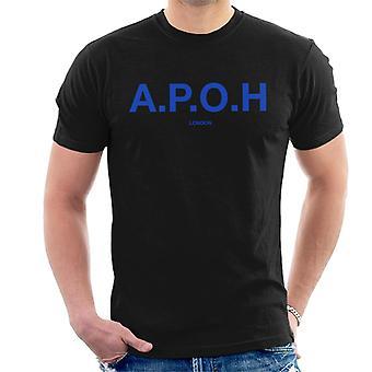 A.P.O.H Classic Cobalt Logo Men's T-Shirt