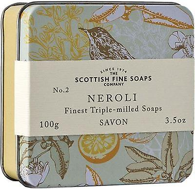 Scottish Fine Soaps tappning Neroli Soap Tin