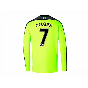 2016-17 Liverpool Third Long Sleeve Shirt (Dalglish 7)