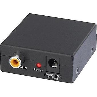 Audio/phono Converter [RCA Digital - Toslink] SpeaKa Profession
