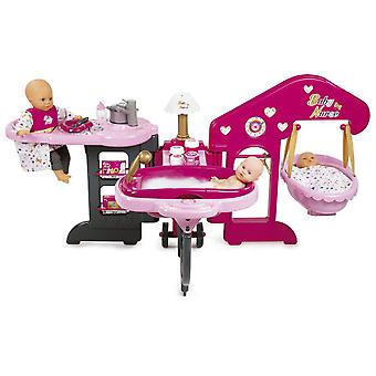Smoby Nursery (Toys , Dolls And Accesories , Baby Dolls , Furniture)