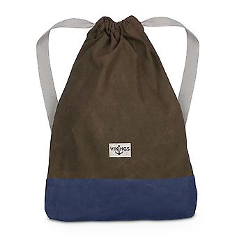 Vikings gym bag gym bag bags backpack dark brown / dark blue