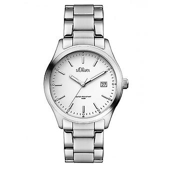 s.Oliver women's watch wristwatch stainless steel SO-3194-MQ