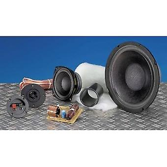 3-way speaker assembly kit SpeaKa Professional Kit 2 incl. insulation material