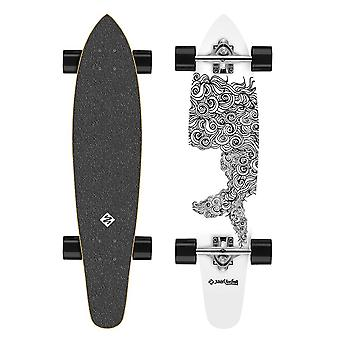 Улица серфинг Longboard Kicktail 36 «Sealocks