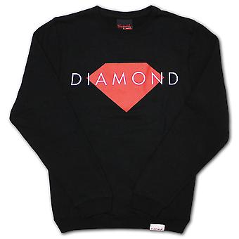 Diamond forsyning Co Solid Sweatshirt svart