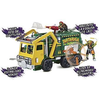 Giochi Preziosi Garbage truck Ninja Turtles 2 With Figure