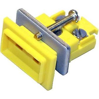 B+B Thermo-Technik Miniature Coupler Socket K-type, Yellow NiCrNi