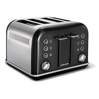MORPHY RICHARDS Toaster Accent Black 4 Discs