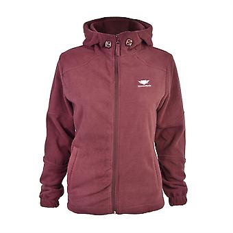 Slimbridge Grandola Size L Womens Fleece Jacket, Plum