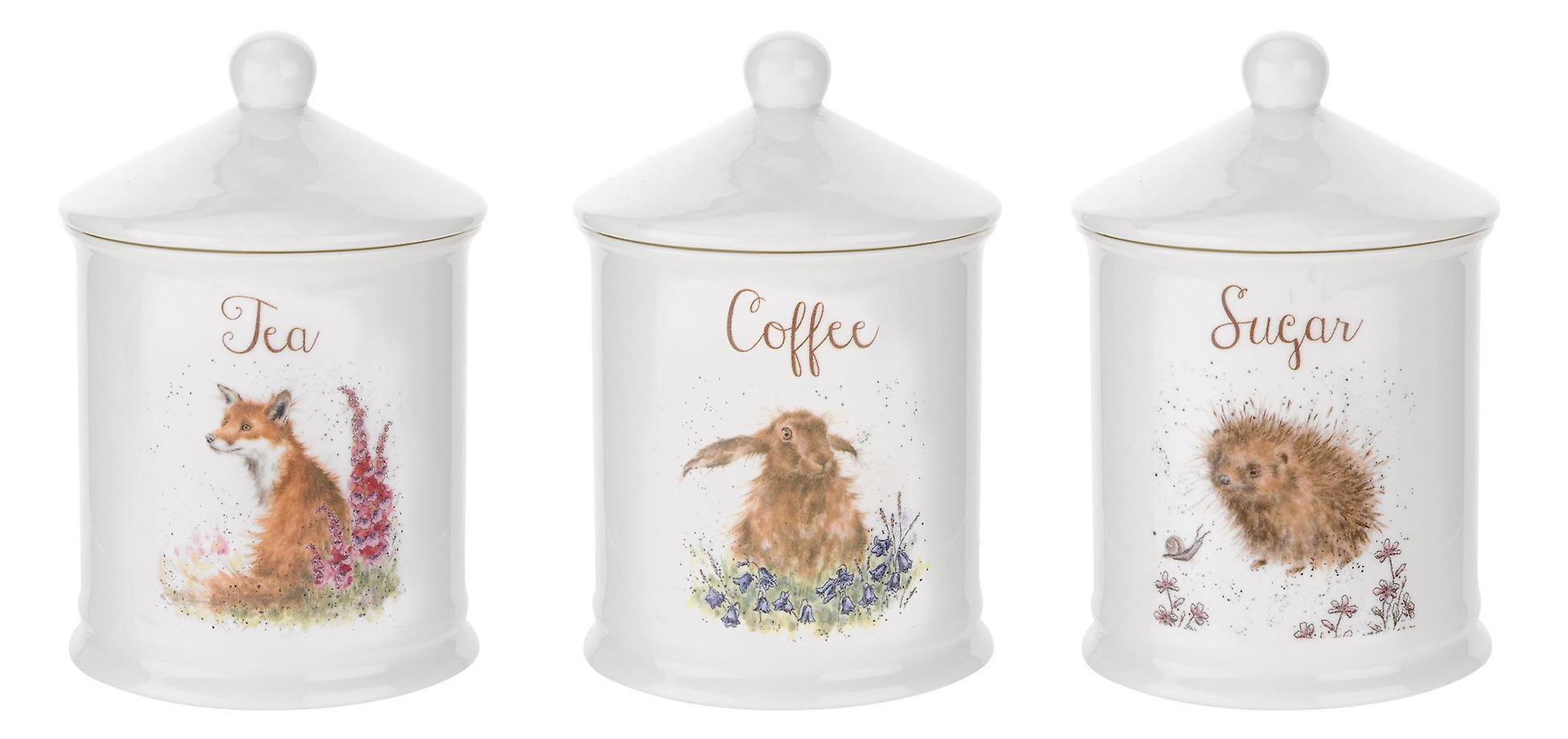 Royal Worcester Wrendale Designs Tea Coffee Amp Sugar