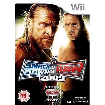 WWE Smackdown vs. Raw 2009 Nintendo Wii Game