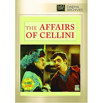 Affairs of Cellini [DVD] USA import