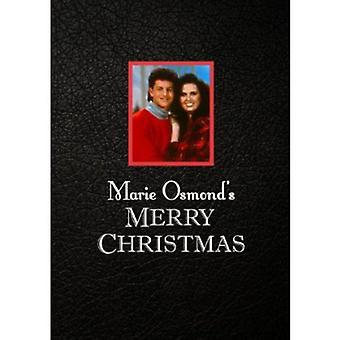 Marie Osmond - glædelig jul [DVD] USA import