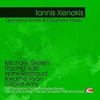 Iannis Xenakis - Iannis Xenakis: Orchestral Works & Chamber Music [CD] USA import