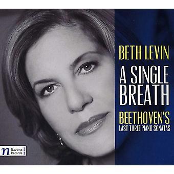 Larsen Beethoven - en enkelt åndedrag: Beethovens sidste sonater [CD] USA import