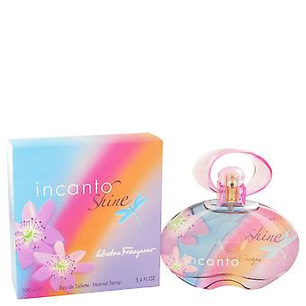 Salvatore Ferragamo Women Incanto Shine Eau De Toilette Spray By Salvatore Ferragamo