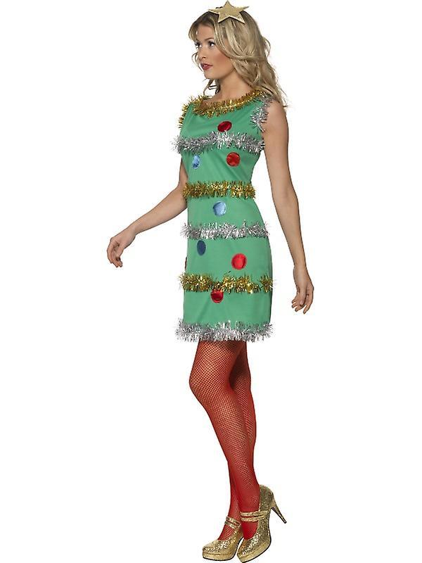 Kleid Tannenbaum.Weihnachtsbaum Kostüm Kleid Tannenbaum Xmas Kostüm