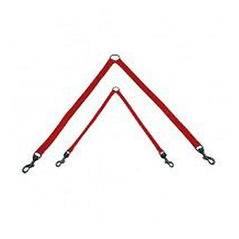 Yagu Basic Double Branch Red Color (Dogs , Collars, Leads and Harnesses , Harnesses)
