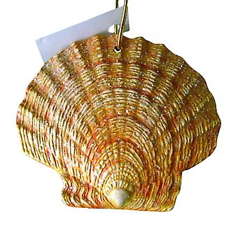 Tropical Beach Seashell Tiki Christmas Ornament ORNShell015
