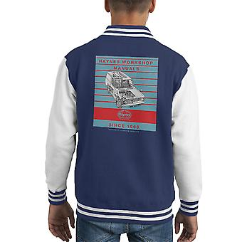 Haynes Workshop Manual 0607 Bedford HA Van Stripe Kid's Varsity Jacket