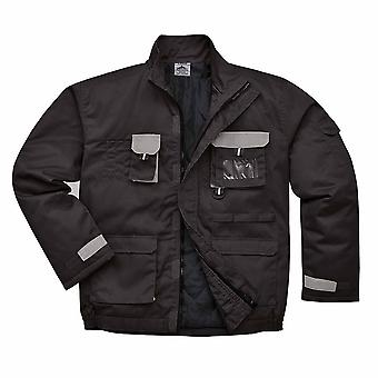 Portwest - Texo Workwear uniforme algodón cálido contraste ricos chaqueta - alineado