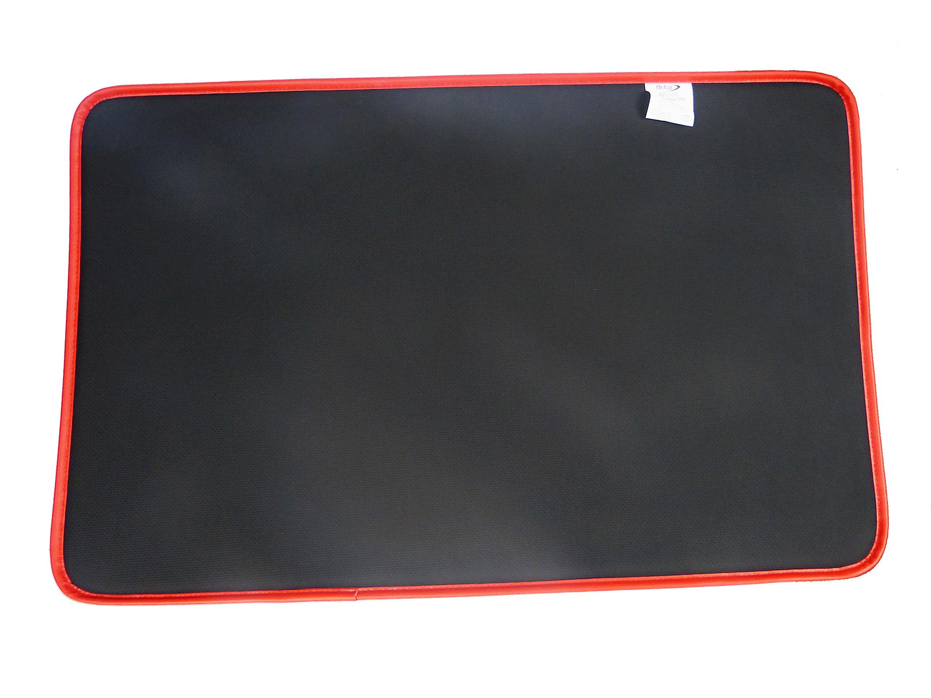 Anti Fatigue Mat High Impact Foam Cushioned Mat With Non Slip Back Red