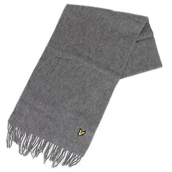Lyle & Scott Sv311a Lambswool Grey Scarf