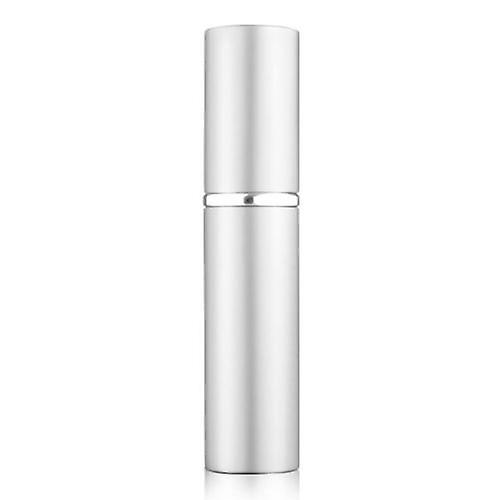 5ml Refillable Perfume Atomizer Bottle for Travel Spray Scent Pump Case (Silver) …