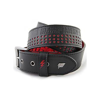 Lowlife SWYD Perf Leather Belt