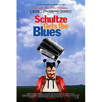 Schultze Gets the Blues Movie Poster (11 x 17)